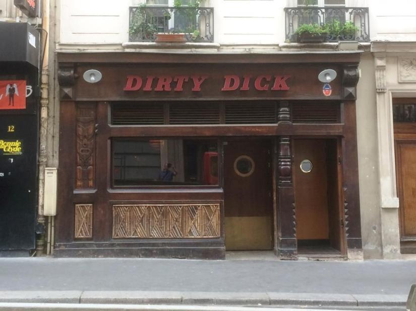 Dirty Dick, Paris, Haiku