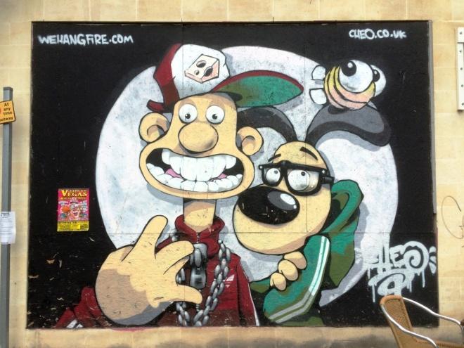 Cheo, Broad Quay, Bristol, July 2015