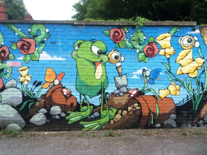 Cheo, Redland Station, Bristol, July 2015
