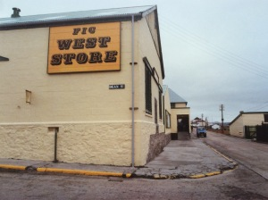 The West Store, April 1988