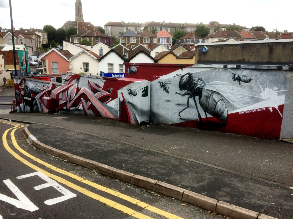 Zase and Dekor, Claremont Road, Bristol, August 2015