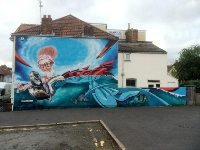 Zase and Dekor, Cottrell Street, Bristol, August 2015