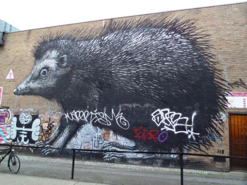 Roa, Chance Street, London, August 2016