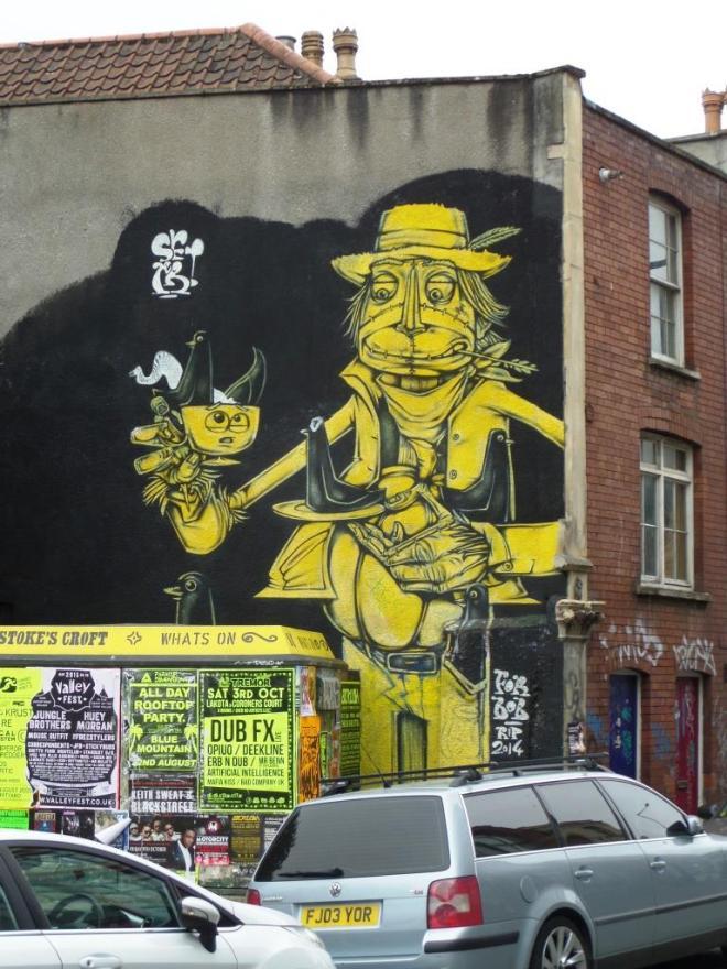Sepr, Stokes Croft, Bristol, August 2015