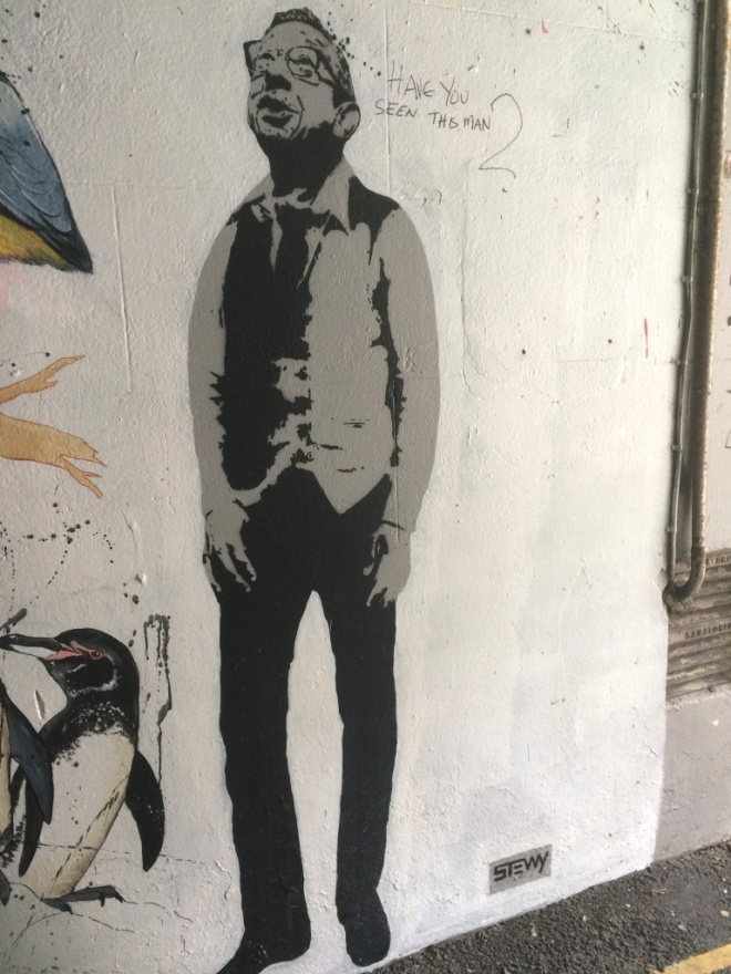 Stewy (DJ Derek), Leonard Lane, Bristol, August 2015