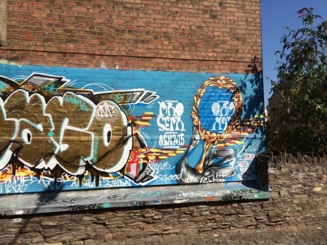 Sepr, Albert Park Place, Bristol, August 2015
