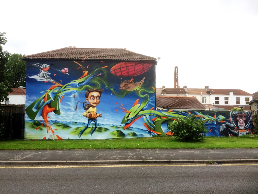 Zase and Dekor, York Street, Bristol, September 2015