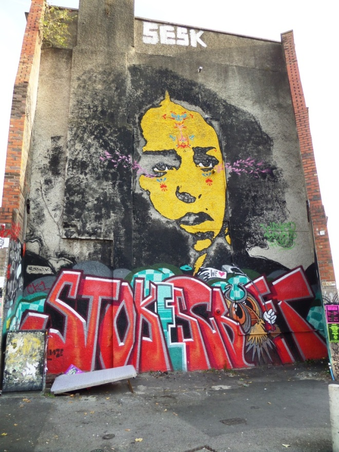 Stinkfish, Stokes Croft, Bristol, September 2015