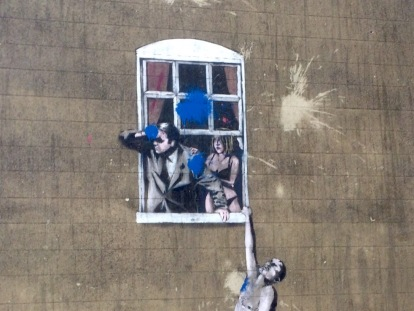 Banksy, Frogmore Street, Bristol