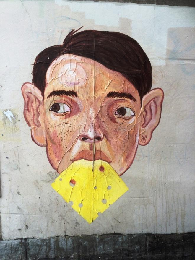 Kid Crayon, Mark Lane, Bristol, July 2015