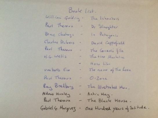 Falkland Island reading list part 1