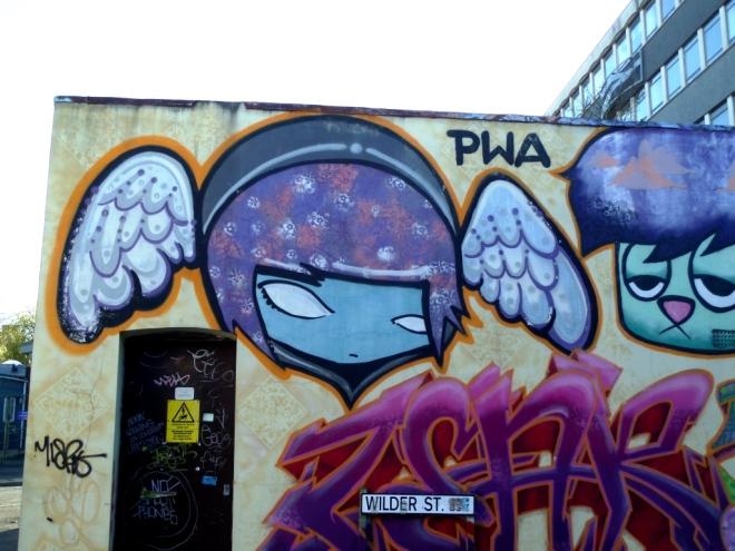 Face F1st, PWA, Wilder Street, Bristol, November 2015