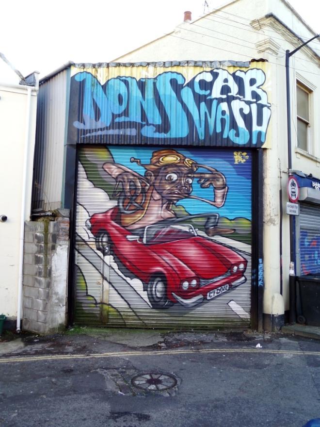 Sepr, Grosvenor Road, Bristol, November 2015