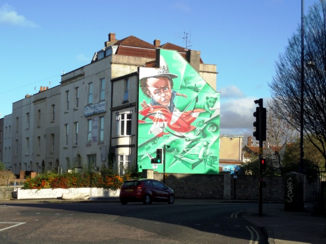 Zase and Dekor, Ashley Road, Bristol, November 2015