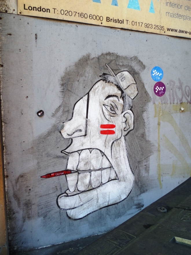 Kid Crayon, March Street, Bristol, December 2015