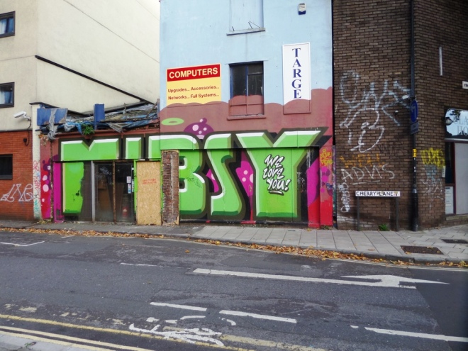 Deamze? Mibzy tribute, Cherry Lane, Bristol, October 2015