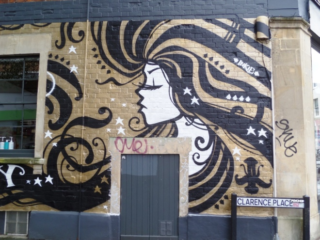 Inkie, Clarence Place, Bristol, December 2015