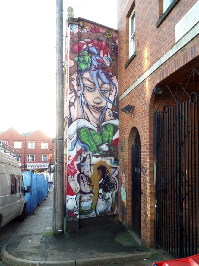 Silent Hobo, Hillgrove Street, Bristol, December 2015