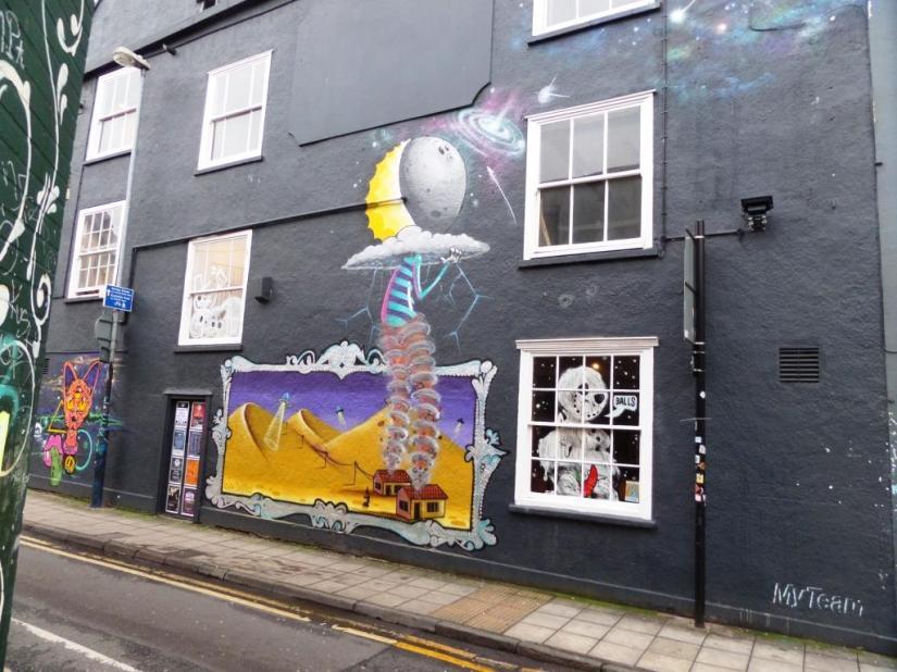 3Dom, Moon Street, Bristol, December 2015