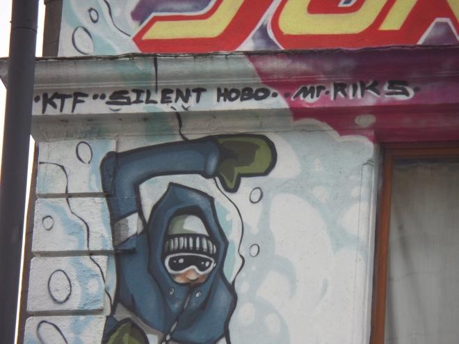 Silent Hobo & Mr. Riks, Park Row, Bristol