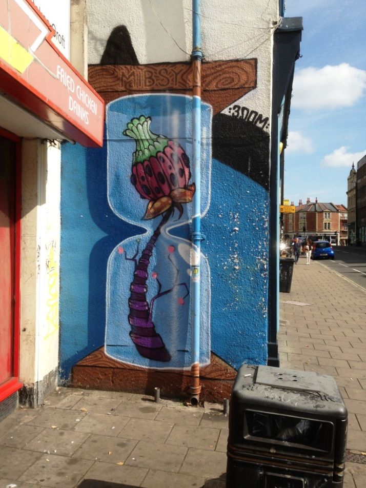 3Dom, Stokes Croft, Bristol, July 2014