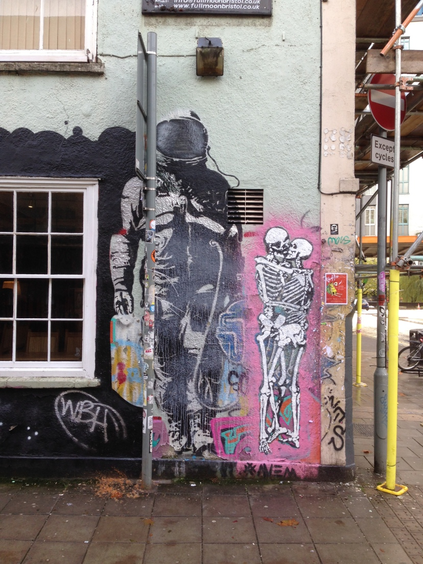 SPQR Astronaut, Moon Street, Bristol, November 2014