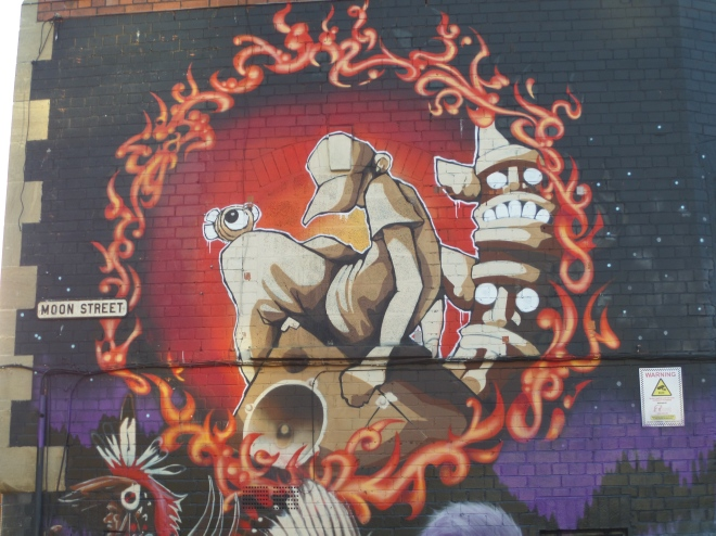 Cheo, the Lakota, Moon Street, Bristol