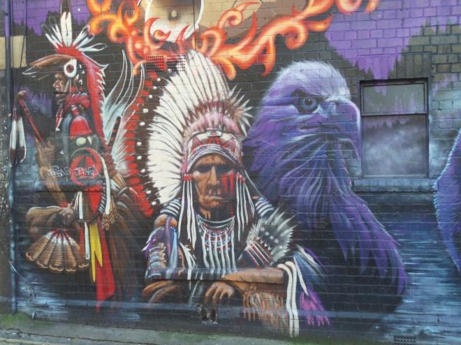 Minto, the Lakota, Moon Street, Bristol