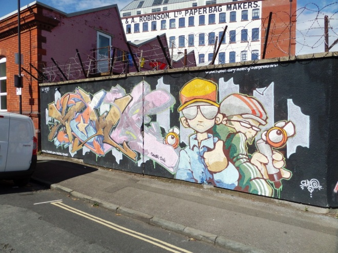 Soker and Cheo, New John Street, Bristol, September 2015