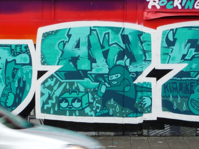 Deamze, Ames and Skank, Stokes Croft, Bristol, January 2016