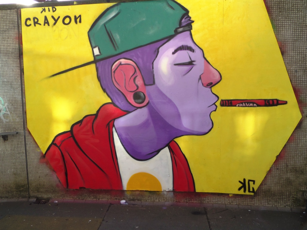 Kid Crayon, The Bearpit, Bristol, February 2015