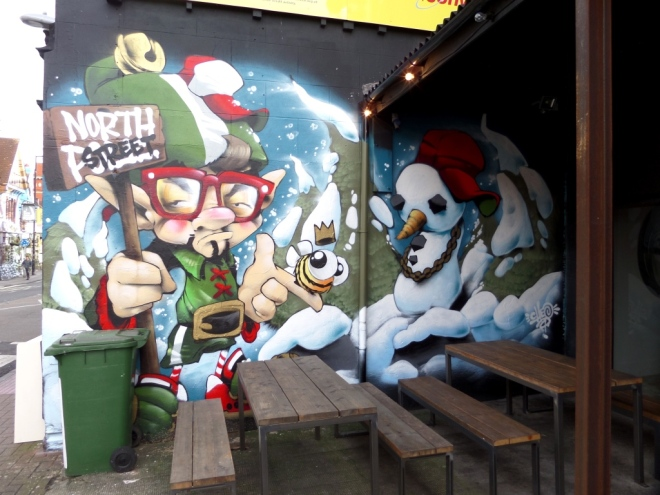 Cheo, North Street, Bristol, February 2016