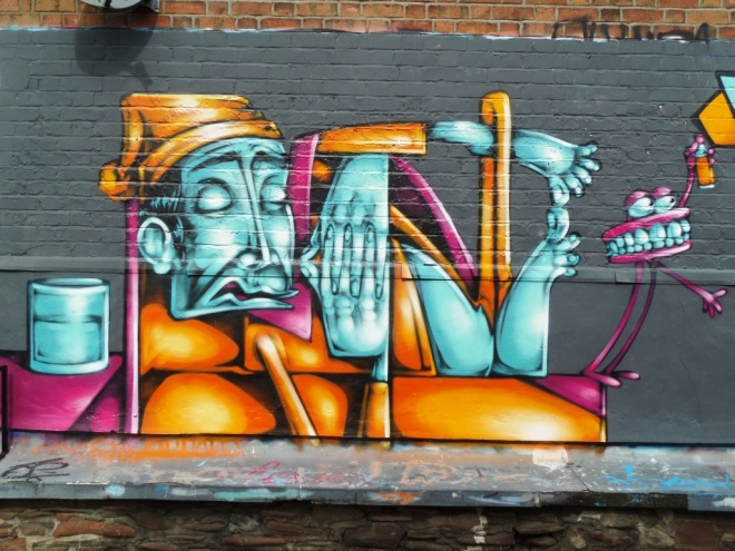 Sepr & Piro, Albert Park Place, Bristol, March 2015