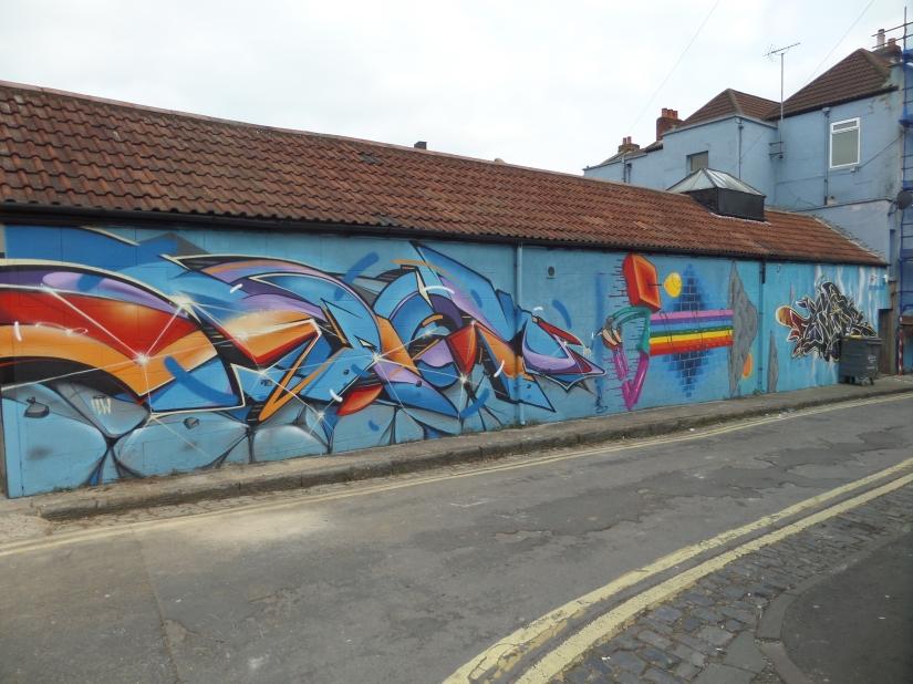 Epok, 3Dom and Voyder, Brookfield Avenue, Bristol, February 2016