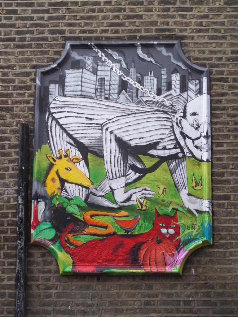 RUN, Clapton Passage, Hackney, London, December 2015
