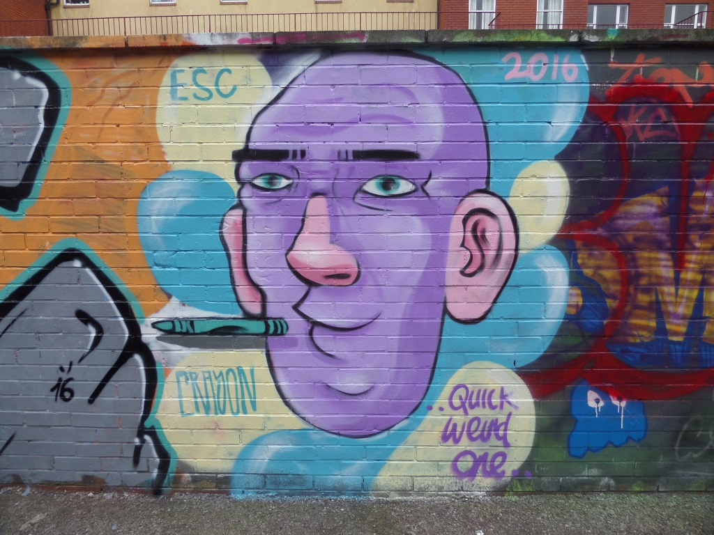 Kid Crayon, Moon Street, Bristol, March 2016