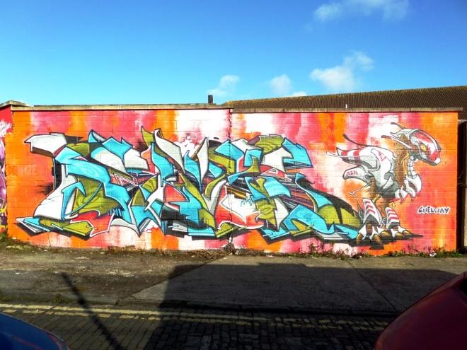 Deamze, Jubilee Street, Bristol, November 2015