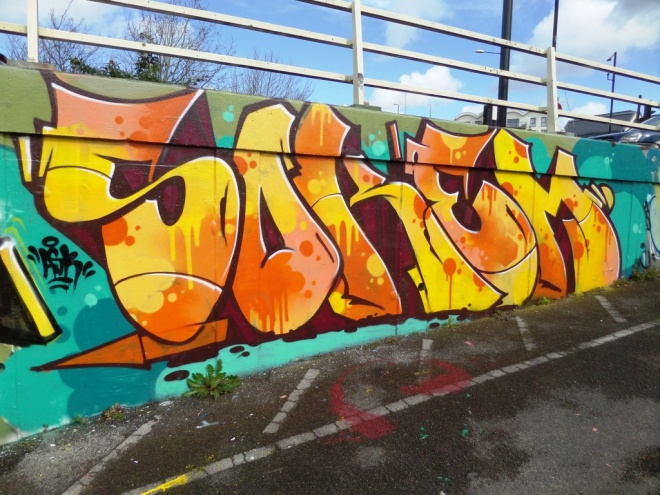 Soker, M32 Roundabout, Bristol, March 2106