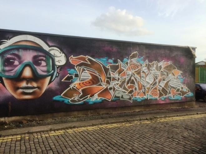 Voyder and Deamze, Midland Street, Bristol, October 2015