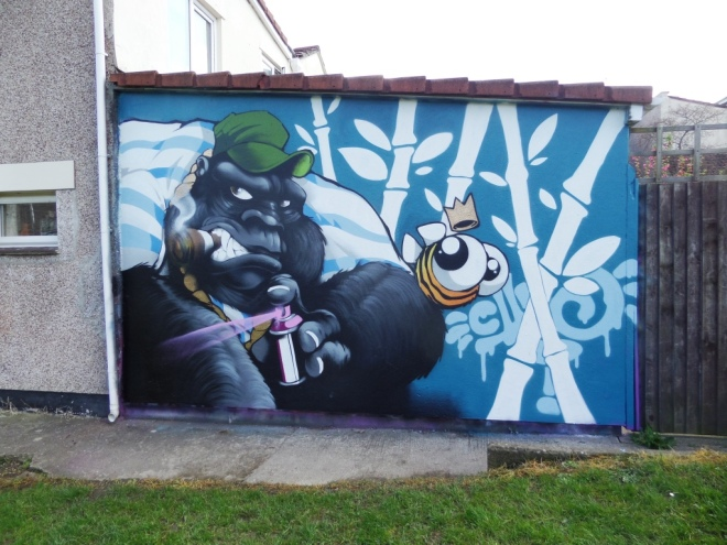 Cheo, North Street Green, Bristol, April 2016