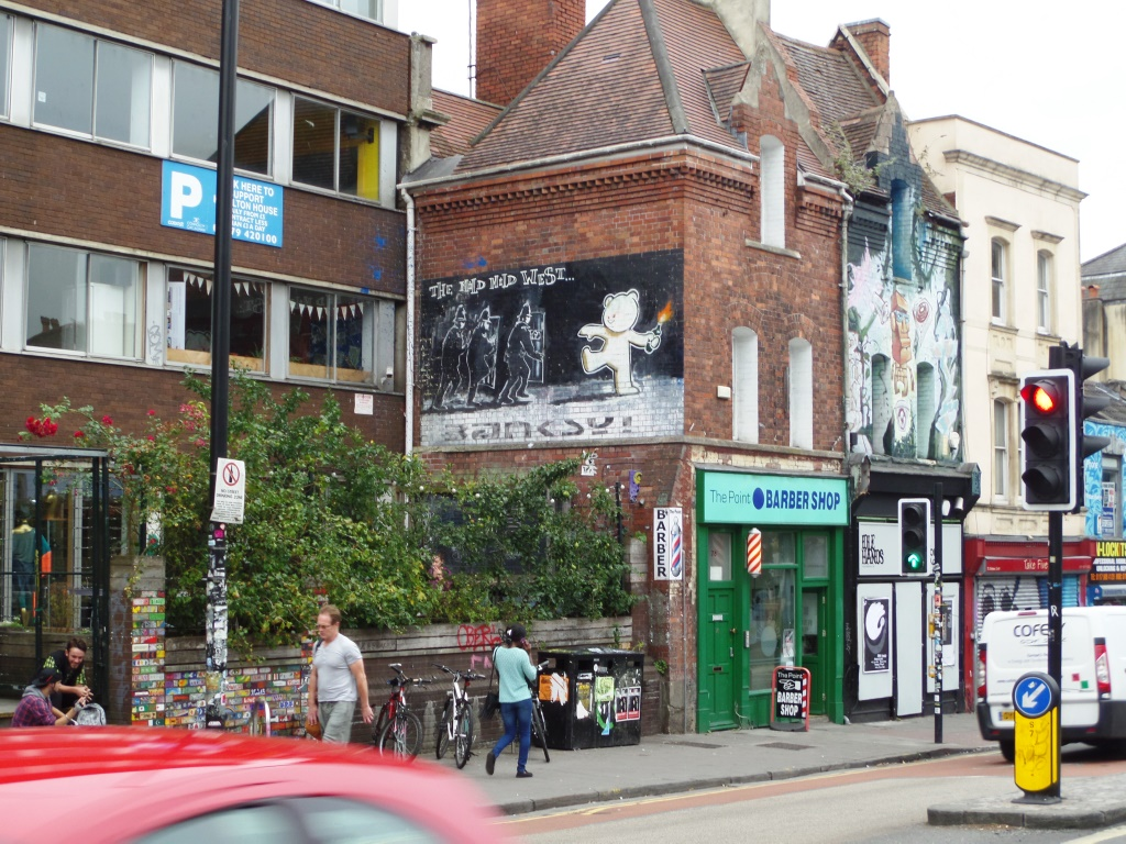 Banksy, Stokes Croft, Bristol, August 2015