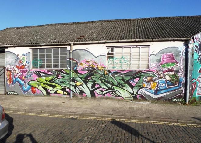 Feek and Soker, Jubilee Street, Bristol, November 2015
