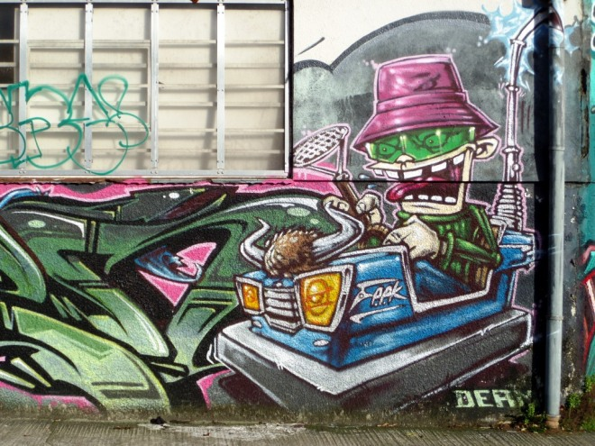 Feek and Soker, Jubilee Street, Bristol, November 2015