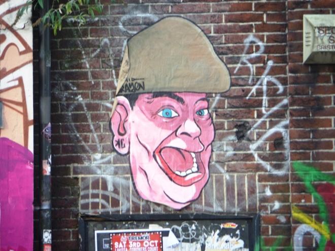 Kid Crayon, Stokes Croft, Bristol, September 2015