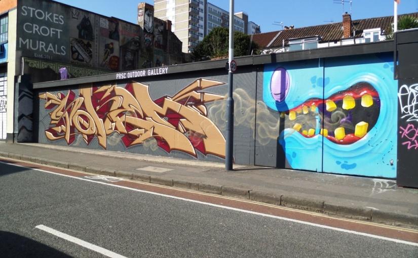 Soker and 3Dom, Jamaica Street, Bristol, March 2016