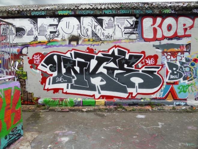 Inkie, Dean Lane skate park, Bristol, May 2016