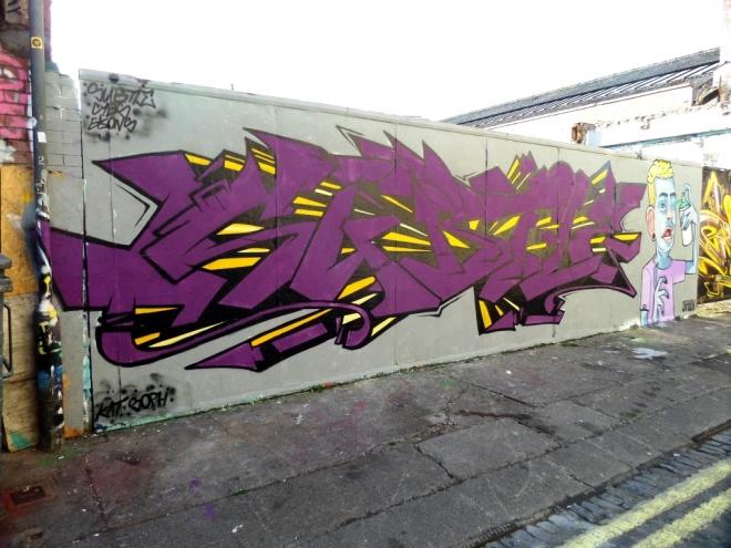 Kid Crayon and Subtle, Moon Street, Bristol, April 2016