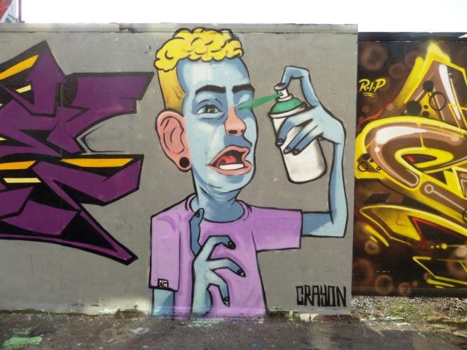 Kid Crayon, Moon Street, Bristol, April 2016