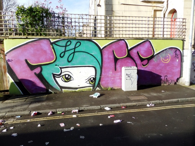 Face F1st, Drummond Road, Bristol, March 2016