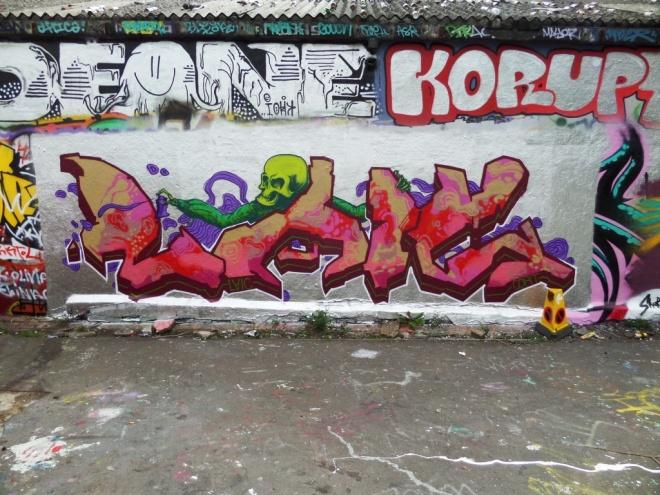 Laic217, Dean Lane skate park, Bristol, June 2016